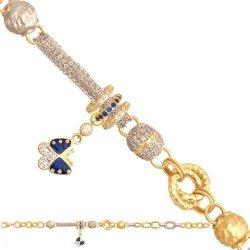 Bransoletka złota, damska 585 - 30755
