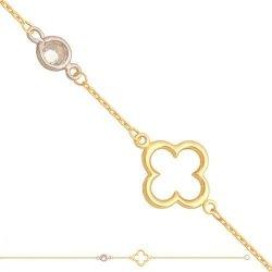 Bransoletka złota, damska 585 - Br144