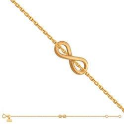 Bransoletka złota, damska 585 - Br045