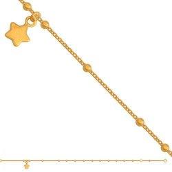 Bransoletka złota, damska 585 - Br061