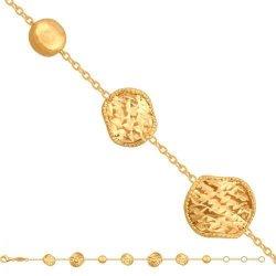 Bransoletka złota, damska 585 - 42631