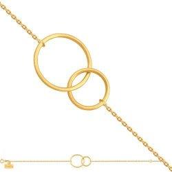 Bransoletka złota, damska 585 - Br176