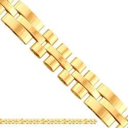 Naszyjnik złoty ozdobny 585 - 43144