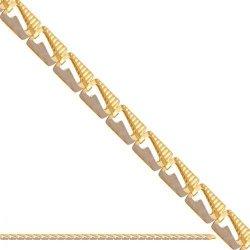 Bransoletka złota, damska 585 - 43386