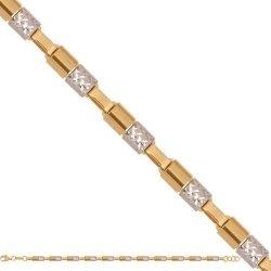 Bransoletka złota, damska 585 - 44764