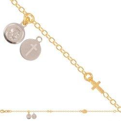 Bransoletka złota, damska 585 - 44965