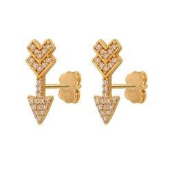 Kolczyki złote 585 sztyft - 47332