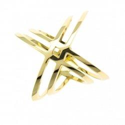 ARTES- Pierścionek złoty obrączka 24H PROMOCJA! 912/375