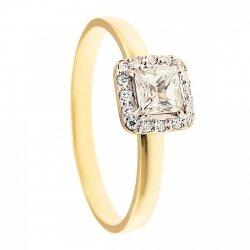 ARTES- Pierścionek złoty zaręczynowy 640/375