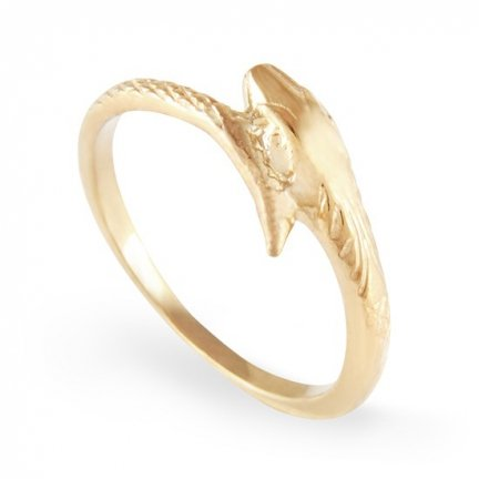 ARTES-Pierścionek złoty wąż A-101/375