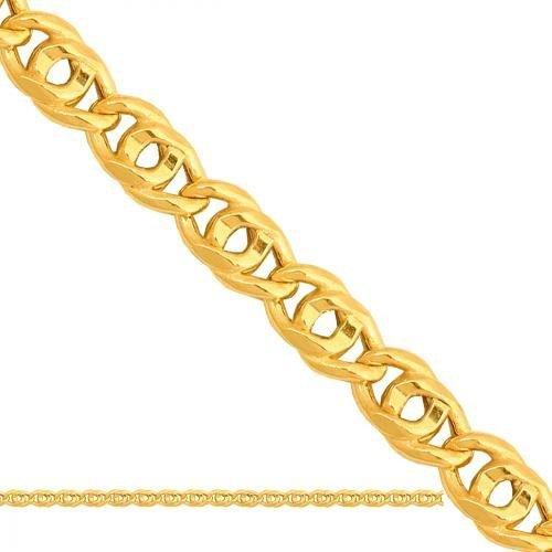 Łańcuszek złoty 585 - Ld094