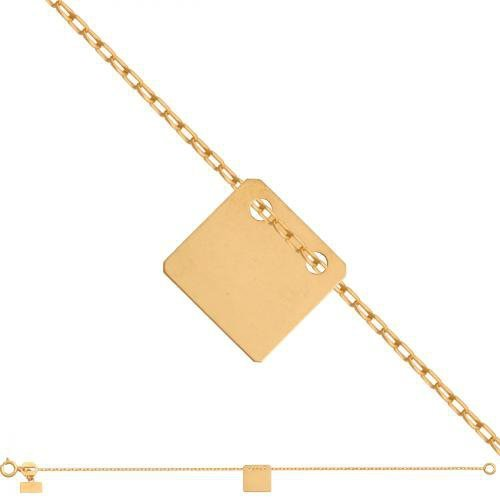 Bransoletka złota, damska 585 - Br048