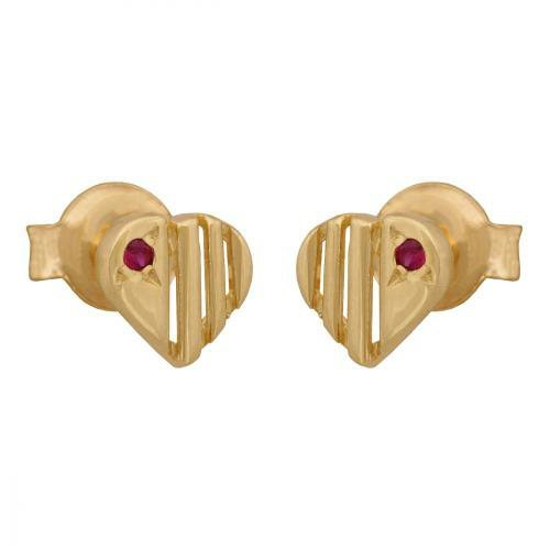 Kolczyki złote 585 sztyft - 36970