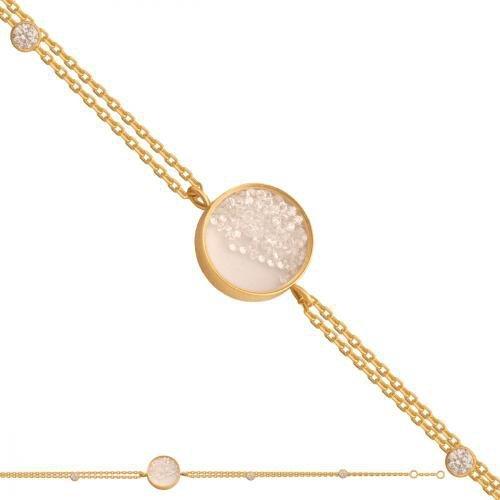 Bransoletka złota, damska 585 - 38902