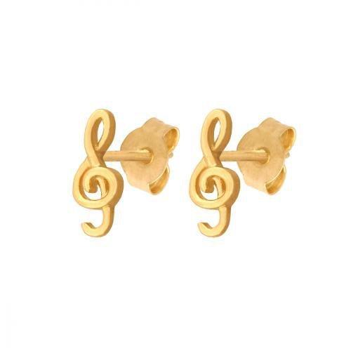Kolczyki złote 585 sztyft - 42619