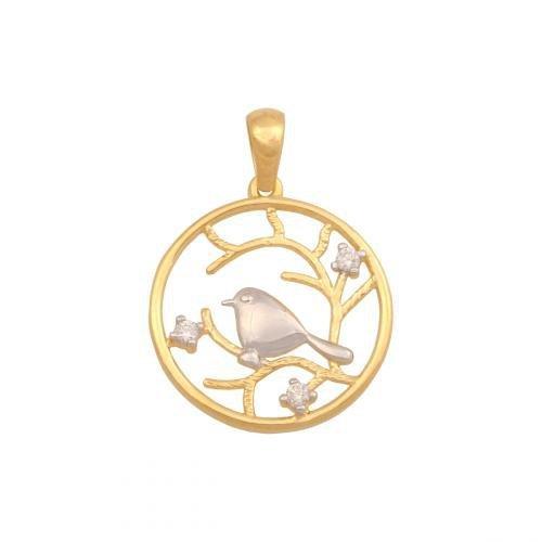 Zawieszka złota 585  - 44610
