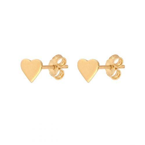 Kolczyki złote 585 sztyft - 47862