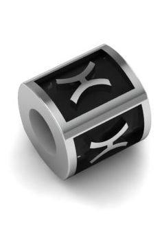 Koralik,zawieszka modułowa srebro 925