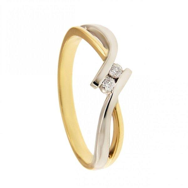 ARTES-Pierścionek złoty 585 zaręczynowy