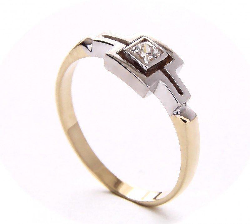 ARTES-Pierścionek złoty 407 PR. 585