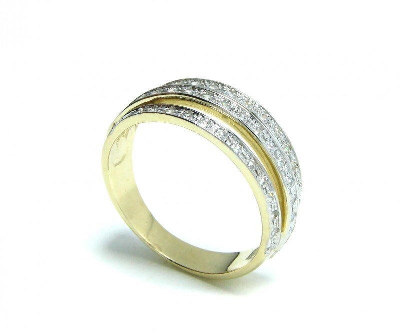 ARTES-Pierścionek złoty 483 PR. 585