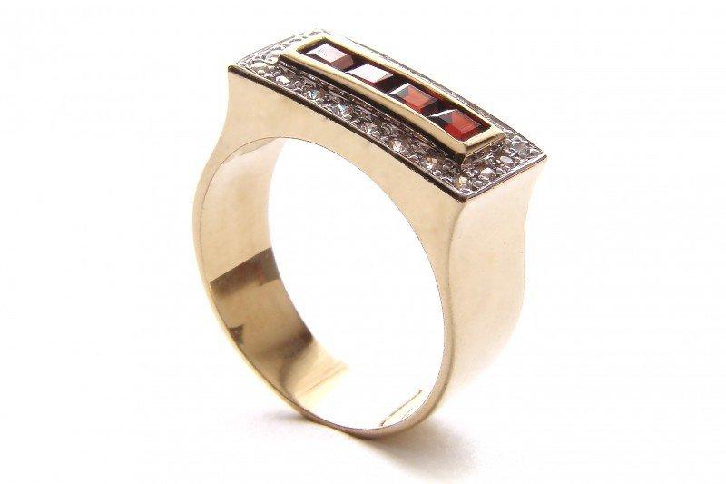ARTES-Pierścionek złoty 521 PR. 585