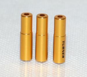 TURNER-Aluminiowe koncówki pancerzy, kolor-zloty (2012)
