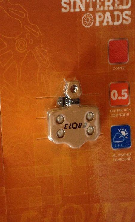 Cloud-klocki hamulcowe Avid Elixir GOLD (2012)