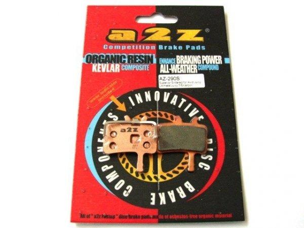 Klocki -metaliczne do Avid Juicy 3/5/7/carbon (2011)