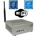 Komputer µForce STX Biuro / Intel Pentium / 4GB RAM / 120GB SSD / WiFi / Mini-STX