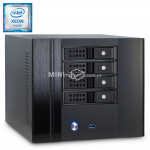 Komputer µForce Serwer NAS Intel Xeon E3-1220v5 8GB RAM 240GB SSD Mini-ITX