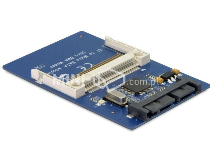 "Adapter 1.8"" Micro SATA na Compact Flash Delock"