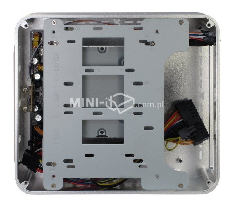 Obudowa Inter-Tech Q5 Silver Mini-ITX