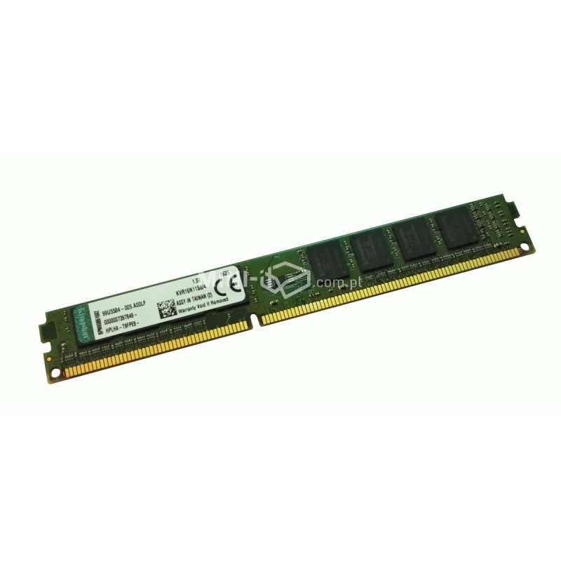 Kingston DIMM 4GB 1600MHz DDR3 KVR16N11S8/4 Low Profile
