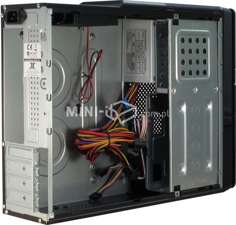 Obudowa Inter-Tech IT-607 300W Mini-ITX, µATX