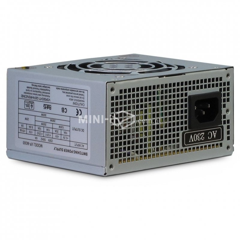 Zasilacz AC/DC Inter-Tech VP-M300 300W SFX