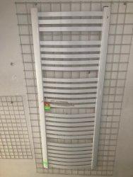 Grzejnik łazienkowy Kermit 58x160 drabinka biała - wyprzedaż