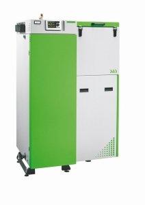 SAS Bio Efekt 14 kW kocioł na pellet z podajnikiem do 160 m2