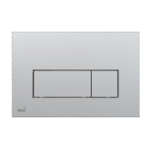 Alcaplast M572 przycisk spłukujący WC chrom mat płaski