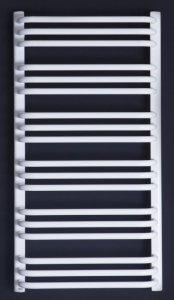 Grzejnik łazienkowy Enix AT 550x1392 drabinka biała