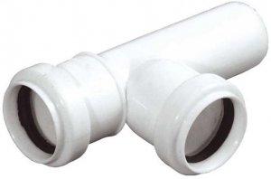 Trójnik kanalizacyjny PCV Fi 32 - kąt 45'
