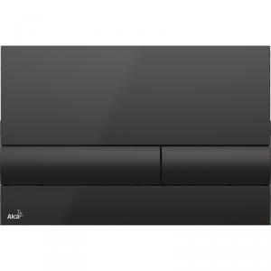 Alcaplast M1718 przycisk spłukujący WC czarny połysk