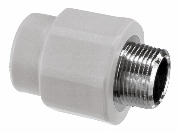Złączka PP nypel 20x1/2 gz zgrzewany Vesbo