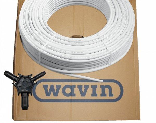 Rura Wavin 16x2 Pex do podłogówki 200m + kalibrator