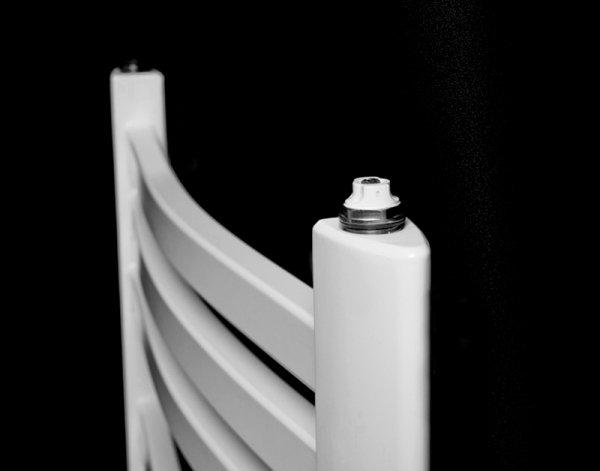 Grzejnik łazienkowy Kermit 58x75 drabinka biała