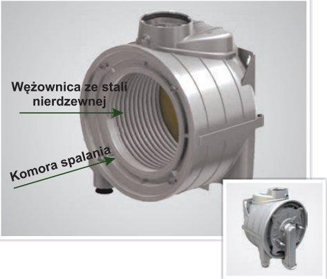 Termet kocioł gazowy Ecocondens Silver 20 kW 1-funkc