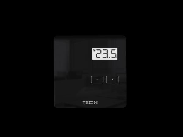 Tech R-10b Regulator pokojowy przewodowy dwustanowy