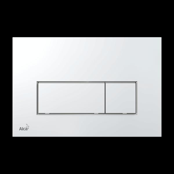 Alcaplast M571 przycisk spłukujący WC chrom płaski