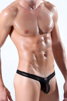 Panska Tanga BODY GMW X-RATED BLACK
