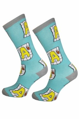 Supa! Sox! School#1 Socks (MQ1520)